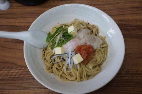 20090 麺や 福座 「ふぐのまぜそば」@金沢 3月31日 今年もやるんですか~? どこにもない河豚のラーメン! 日本料理出身の本領発揮!どやっ!