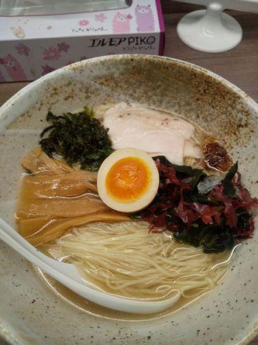 [87点] 【夏季限定】金目鯛の冷製麺820円@東大和ラーメン 大冬樹