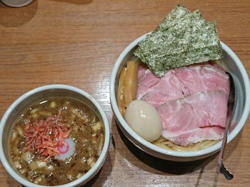 [83点] 特製つけ麺+海老つけ麺変更@煮干中華そば 鈴蘭 新宿店