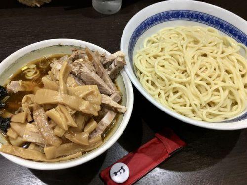 [90点] つけ麺中+メンマ&チャーシュー@中華そば べんてん