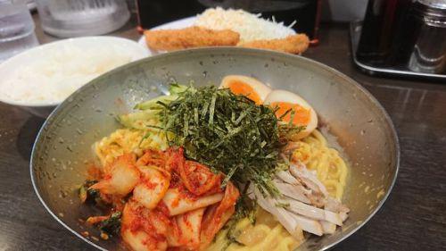 [78点] 特製冷麺@ラーメン 来来亭 東松山店