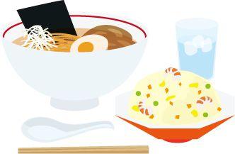 ごはんが左で味噌汁が右だけどじゃあラーメンとチャーハンならどっちが左だろう