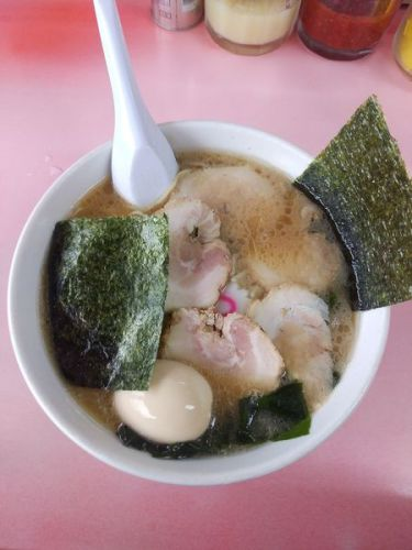 [83点] チャーシューメン+味玉@ラーメンショップ 間々田本店