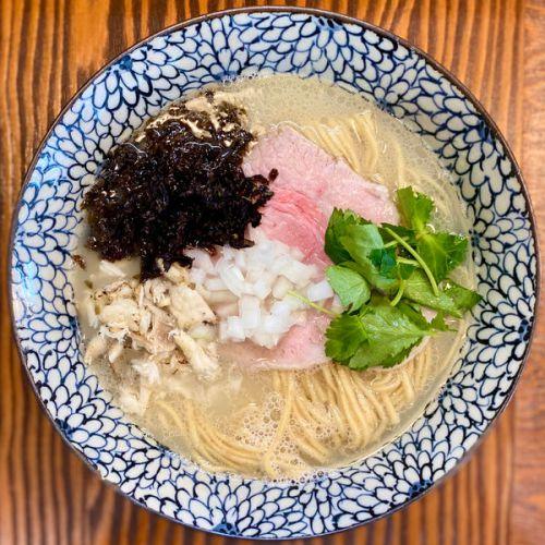 [86点] 真鯛の荒焚き潮SOBA ¥850円@拉麺 イチバノナカ