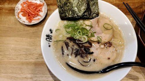 [90点] 博多ラーメン@麺や晴 HARU